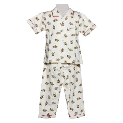 4341a6ea1 Girls Cotton Kids Nightwear Suit