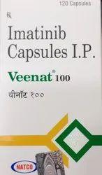 Imatinib Capsules Ip 100mg (Veenat)