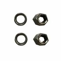 Bicycle Mild Steel Brake Shoe Nut Set, Packaging Type: Packet