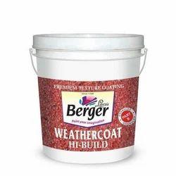 Berger weathercoat premium texture coating, 3.6 L