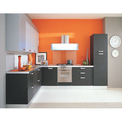L Shaped Modular Kitchen Modular Kitchen Hind Traders And Steel