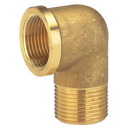 Brass Elbow Coupling With Female Thread