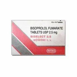 Biselect Tablet 2.5 mg