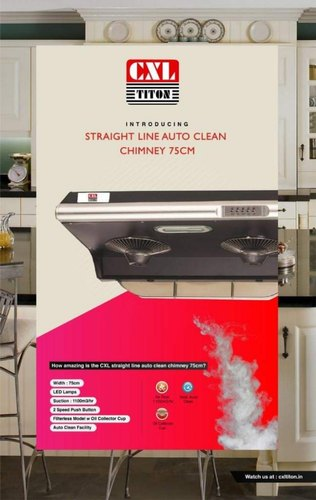 CXL 75 Cm Kitchen Chimney