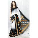 Cotton Handloom Silk Saree