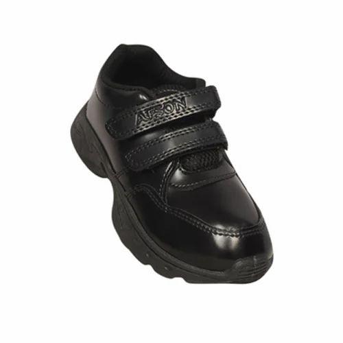 Afson Black School Shoes de9503ecd