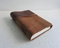Refillable Flap Closure Handmade Leather Journal
