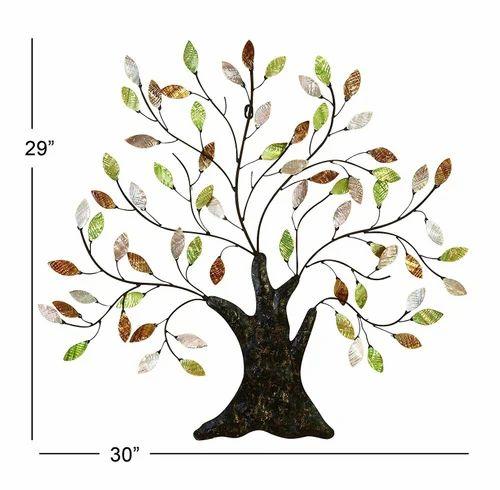 Tree Of Life Wall Art Decoration Branch Shells Home Decorative Wall Hanging À¤µ À¤² À¤¹ À¤— À¤— Narula Handicrafts New Delhi Id 8630765562