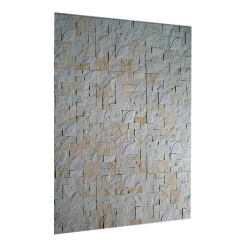 Stone Square Elevation Wall Tiles, Thickness: 5-12 mm