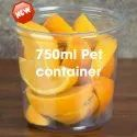 750ML, 1000ML Round Pet Containers