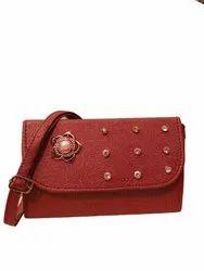 PU Leather Shoulder Ladies Designer Sling Bag