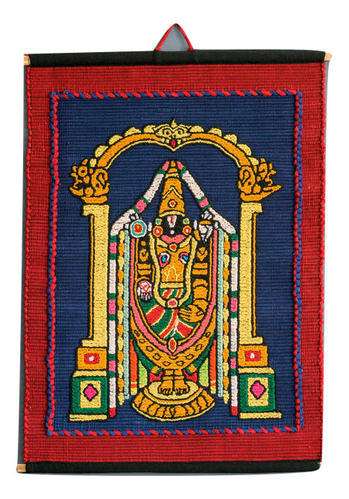 Multicolour Rectangular Hand Loom Cotton Wall Hanging For Wall Decor ...