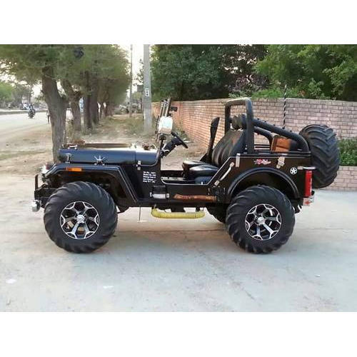 Black Diesel Willy Jeep Rs 390000 Piece Indian Jeep Modification