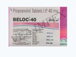 Beloc 40 Propranolol Tablets
