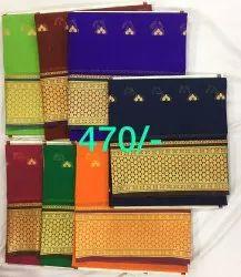 Yeola pathani Festive Wear Silk Sarees, 6.3 m (with blouse piece)