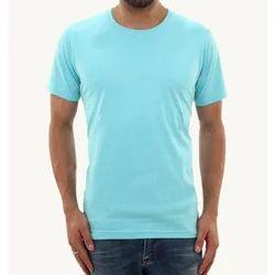 Cotton Round Neck Plain T-Shirts, Size: S to XXXL