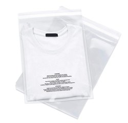 PLASTIC CUSTOMIZABLE Garment Bags, For Apparel Packaging