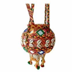 Bandhani Decorative Matki