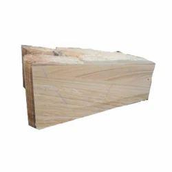 Cream Tejasvi Dhrangadhra Stone Slab, for Construction