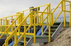 Multicolor Rectangular FRP Platform