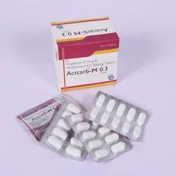 Voglibose & Metformin Tablets