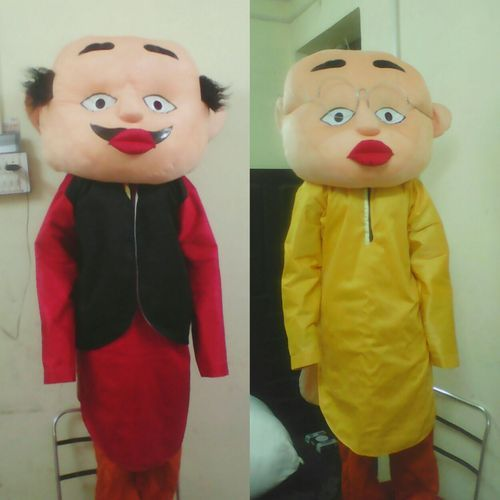 And Free Size Motu Patlu Mascot Costumes Rs 3500 Piece Id