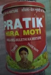 Pratik Heera Moti Pan Sweetener, Pack Type: Tin, Pack Size: 80 Gram