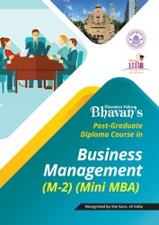 One Year (part-time) PG Diploma in Business Management (Mini MBA)