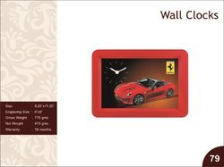 Rectangular Promotional Wall Clock