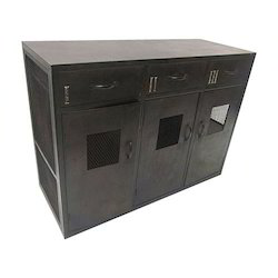 80 Cm Single Flaps Side Cabinet, For Industrial