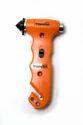 Orange Plastic & Metal 4 In 1 Car Emergency Hammer