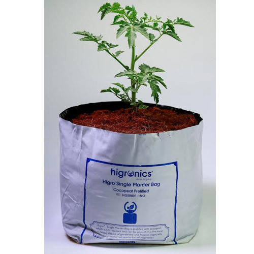 Higro Single Planter Bag Cocopeat Prefilled