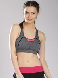 HRX Grey Melange Sports Wear