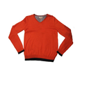 Red V Neck School Uniform Sweaters
