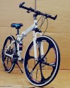BMW X6 White Foldable Bicycle
