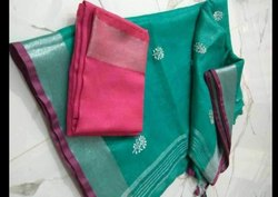 Chiffon Fancy Saree, Packaging Type: Packet