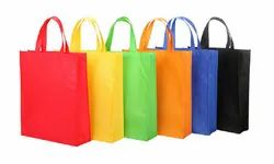White Loop Handle Eco-Friendly Recyclable Bags