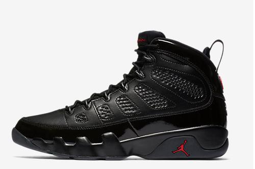 4f67feb267d03e Black Air Jordan 9 Retro Shoe