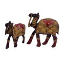 Wooden Camel Set