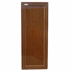 Sliding Polished PVC Bathroom Door For Home