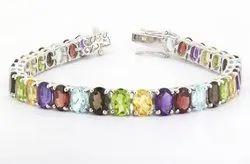 Semi Precious Bracelet Fine Gemstone Jewelry