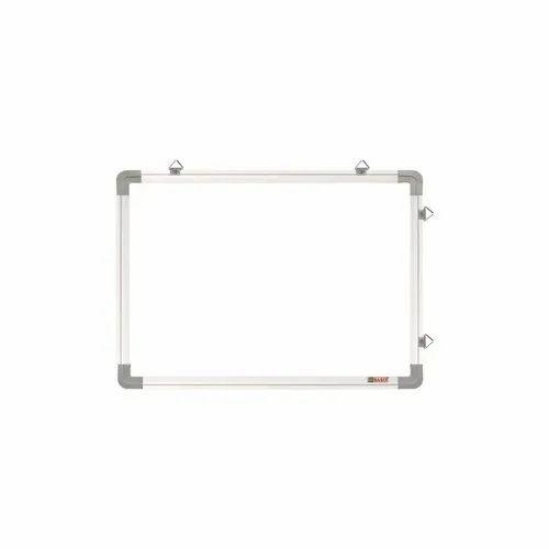 Obasix Ewb4560 White Board 1 5x2 Feet Non Magnetic Eco Series Aluminium  Frame