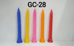 GC-28 Soft Twist Candle (1 Pc / Pkt)
