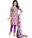 Stylish Printed Unstitched Salwar Suit