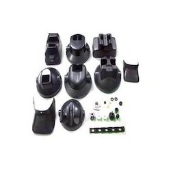 Black Hot Runner Plastic Injection Molding Die For Industrial Use