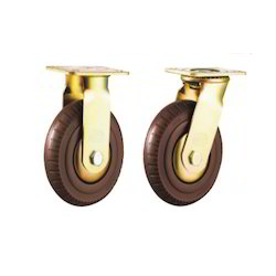 Foam Rubber (Fr) Caster Wheels