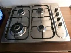 Stainless Steel Silver Faber 4 b SS Hob