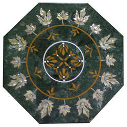Table Top Pietra Dura Inlay Home And Garden Decor