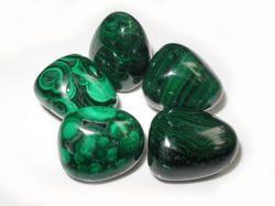 osam Unisex Malachite Stone