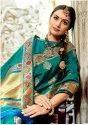 Designer Pure Banarasi Silk Zari Weaving Saree